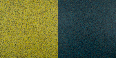 image of a painting titled stereo field